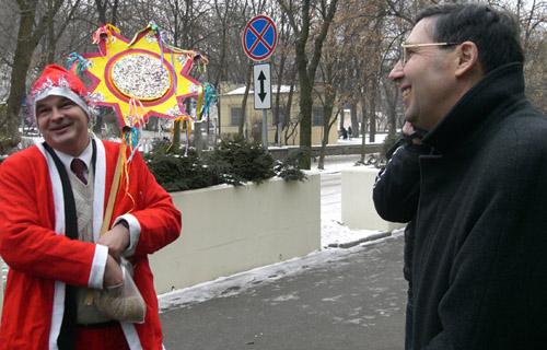 Gladchuk kolyadue bylya ambasadi USA