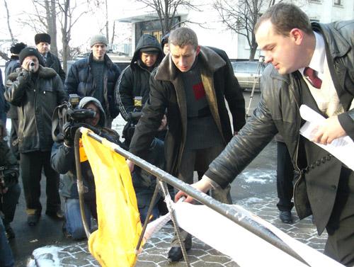 Gladchuk miting na Bankovii 2005