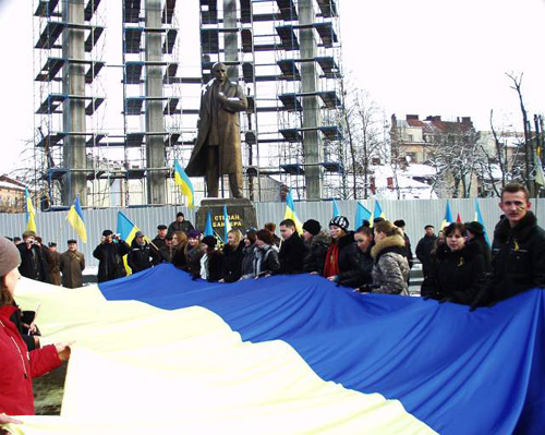 Sobornist Lviv22-01-2011